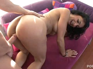 Persia Pole gets pounded lengthy and hard from behind by a giant dong