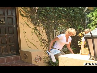 Have u ever caught yourself checking out the cleaning lady? well Shane went a step above just checking out his Cleaning lady Brianna. Shane decided it would be a ideal opportunity to test out his fresh Xray glasses. and this guy caught more than just an eye full of hott cleaning lady butt. Brianna looked smoking hott out of that annoying layer of cloths this chick had on. and Shane was digging what this guy saw. As the day progressed shane had forgotten his glasses in the bath. this was a mistake that guy wouldn't regret later. as Brianna found the glasses and tried 'em on this chick was surprised and flattered and decided to train Shane a smutty lesson with her amazing body. That Babe fucked him good and hard, Shane not solely got away with his little stunt but his abode was clean too.